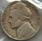 US 1947 D Jefferson Nickel G