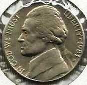 US 1981 D Jefferson Nickel EF