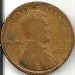 US Lincoln Wheat Cent 1920 - G