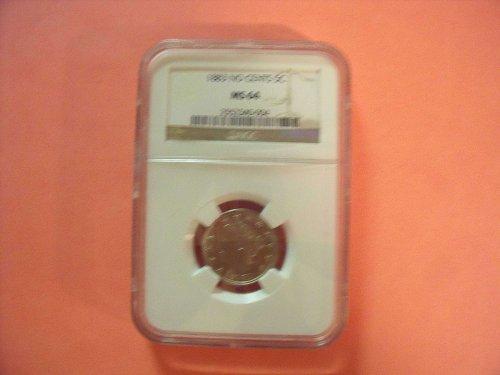 1883 Liberty Nickel MS64 NGC