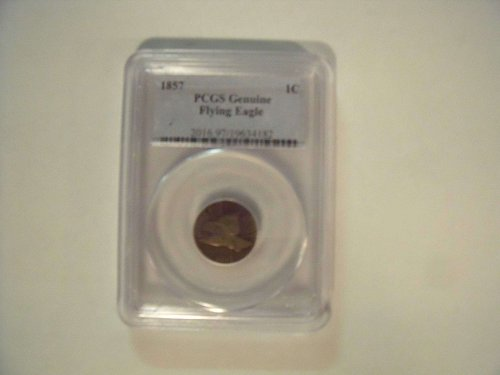 1857 Flying Eagle One Cent PCGS Certified