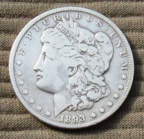 1893-P Morgan Dollar -- RARE -- Only 378,792 Minted