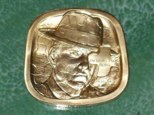 Jewish American Hall of Fame Medal Moe Berg 1902-1972