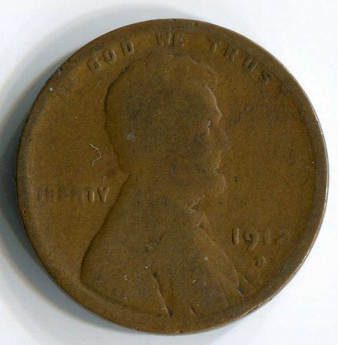 1912 D Lincoln Wheat Cent