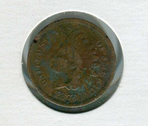 1870 P Indian Head Cent Small Cents