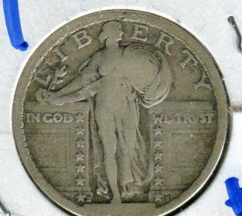 1917 S Standing Liberty Quarter