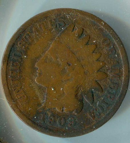 1909 P Indian Head Cent Small Cents