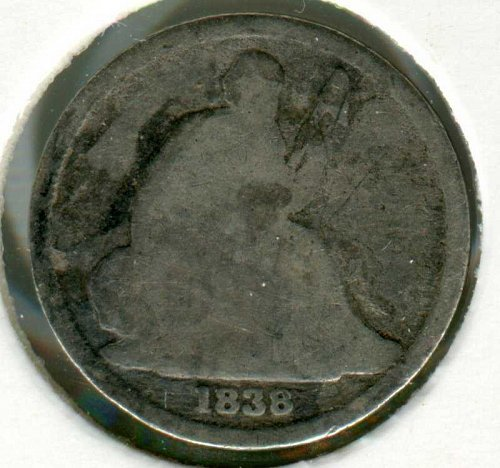 1838 O Seated Liberty Dime