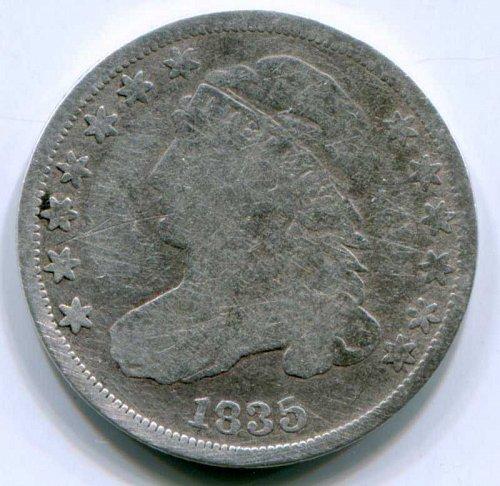 1835 P Liberty Cap Dime