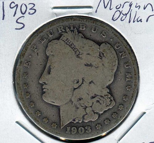 1903 S Morgan Dollar