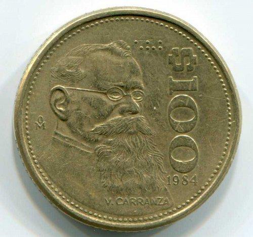1984 Mexico $100