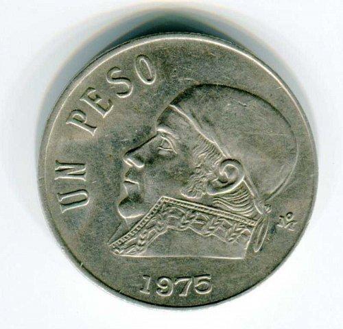 1975 Mexico Un Peso