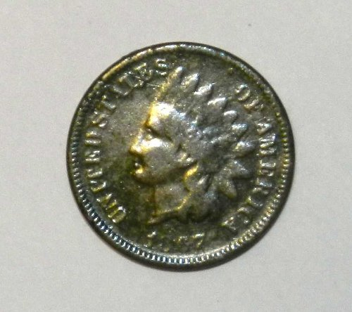 1867 P Indian Head Cent