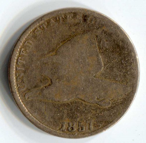 1857 P Flying Eagle Cent Small Cent