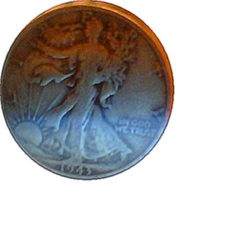 1943 P Walking Liberty Half Dollars: