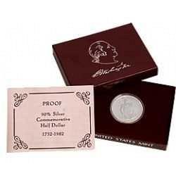 1982- S Proof George Washington 250th Birthday Commemorative Half Dollar