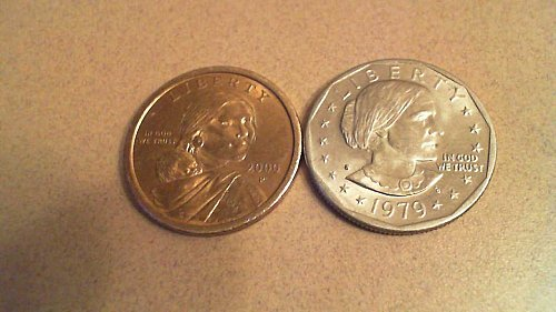 1979 S Susan B Anthony Dollar