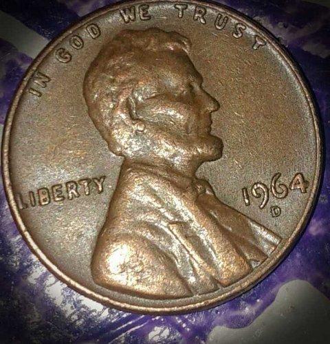 1964, Lincoln Cent; Perfect condition