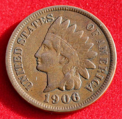 1906 Indian One Cent VG?