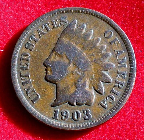 1903 One Cent Indian Head