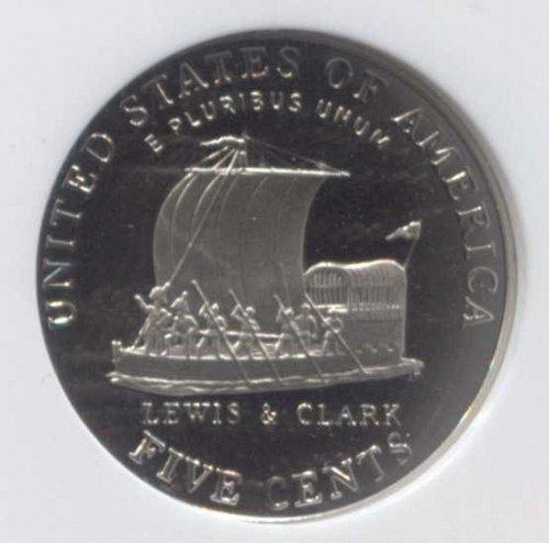 2004 S Jefferson Nickel Keelboat 5c Proof PF69 Ultra Cameo Slabbed Mint