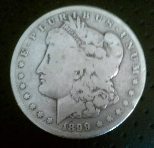 1899-S Morgan Silver Dollar Lower Mintage