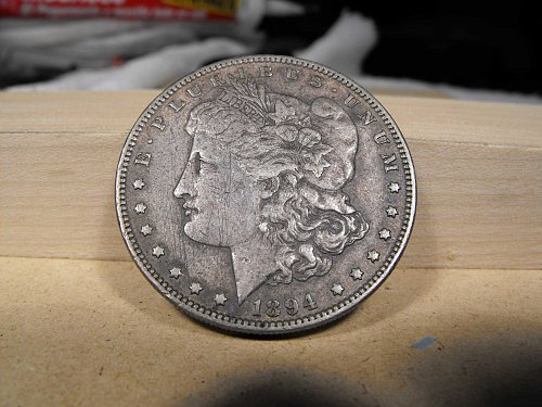 1894 P Morgan Silver Dollar