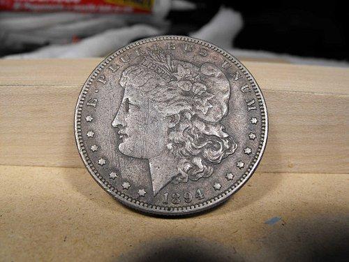 1894 P Morgan Silver Dollar