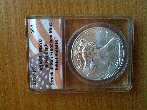 MS70 Silver Eagle