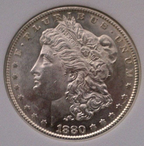 1880-S VAM 6A Large S Morgan Silver Dollar MS67 ANACS RARE BEAUTY!