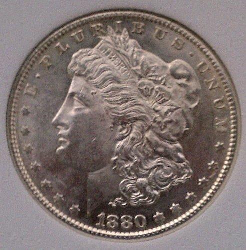 1880-S VAM 6A Large S Morgan Silver Dollar MS67 ANACS RARE BEAUTY!