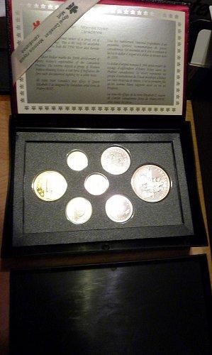 1990 Canadian Proof Mint Set