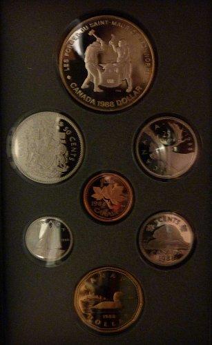 1988 Canadian Mint Proof Set