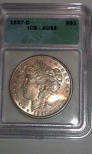 1897 O Morgan Silver Dollar