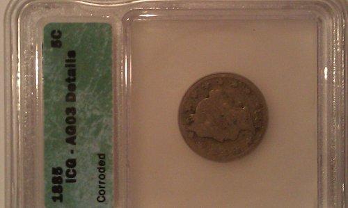 1885 Liberty V Nickel