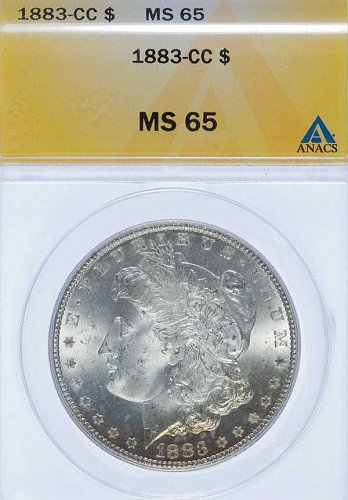 1883-CC MS65 A Beautiful Gem! For a great price!