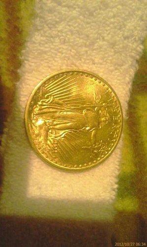 beautiful $20 1914 s gold bullion coin