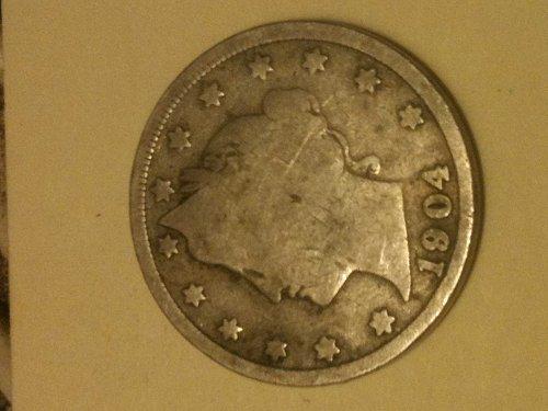 1904 Liberty v nickel