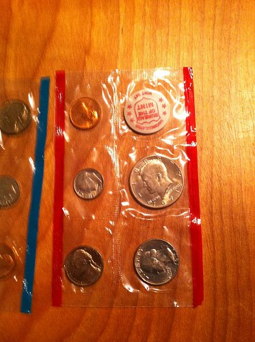 1971 - U.C. Uncirculated Coin Set, 11 Coins Total