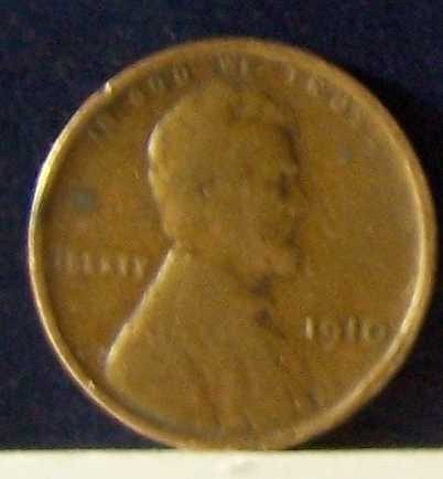 1910 P Lincoln Wheat Cent
