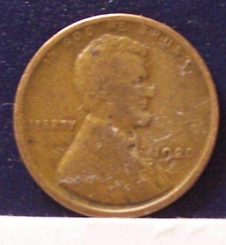 1920 P Wheat Penny