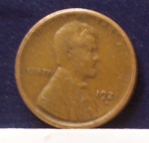 1921 S Lincoln Wheat Cent Small Cents