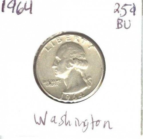 1964 Washington Quarter