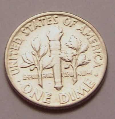 1955-P  ROOSEVELT  DIME  >> XF/AU <<