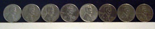1943 S Lincoln Wheat Cent Small Cents: Steel Cent