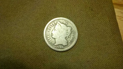 first year 3 cent ppiece nickel