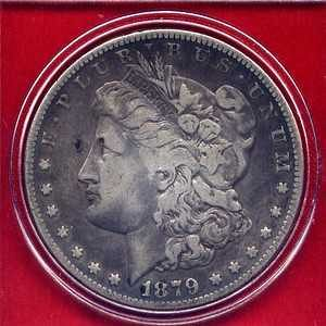 1879 S Morgan Dollars: Reverse