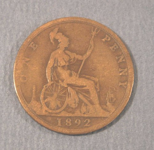 1892 British Large Penny
