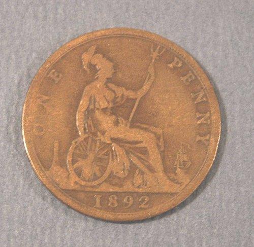 1892 British Large Penny