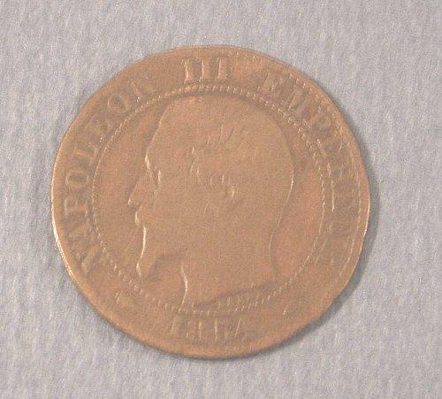 1854-A  Italia Five Centimes